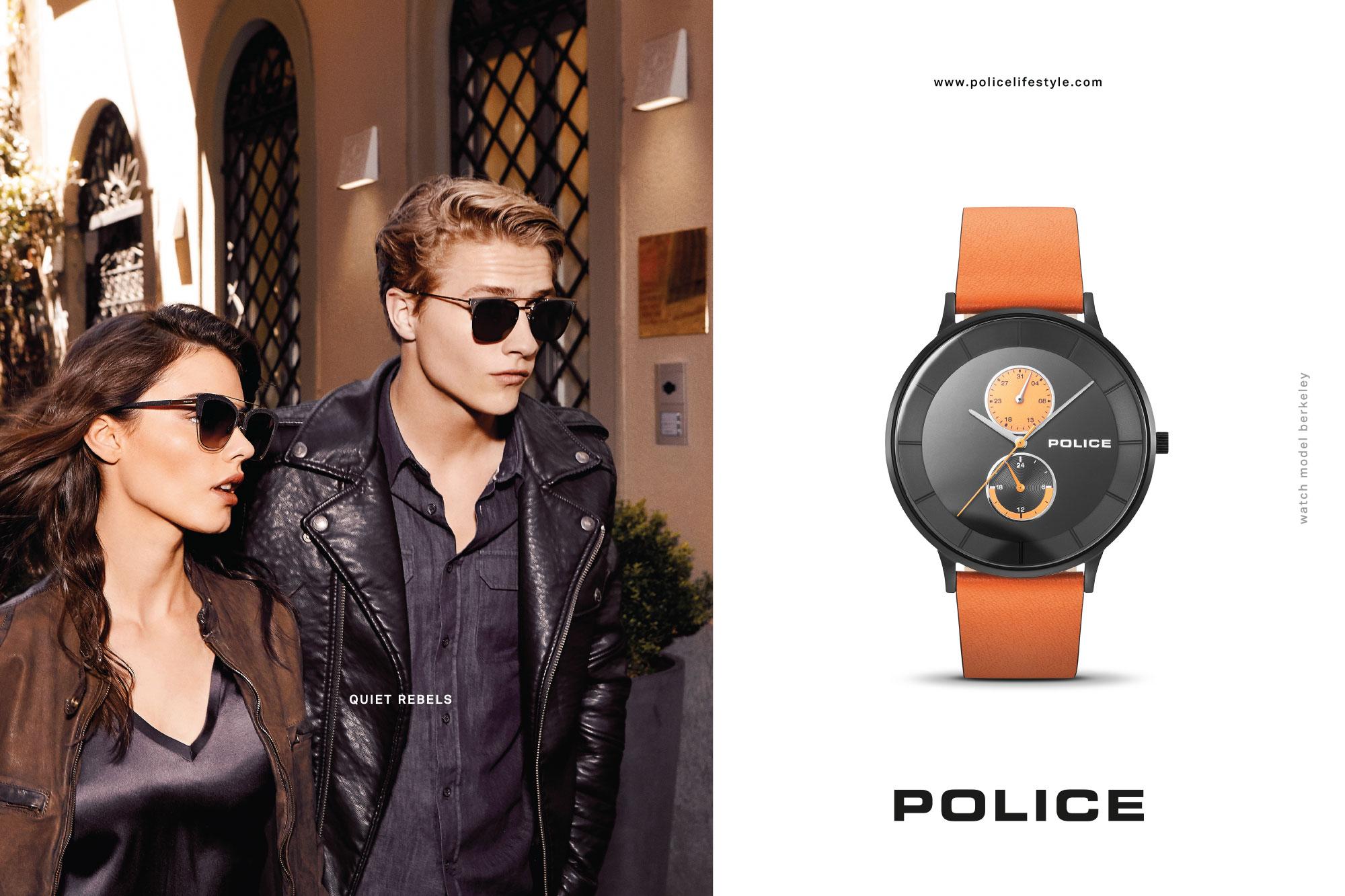 Police часовници и накит