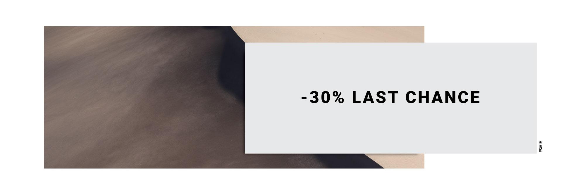 -30% Last Chance
