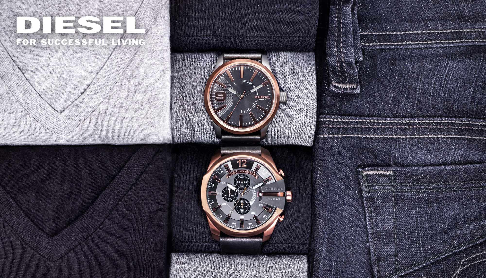 Diesel часовници и накит