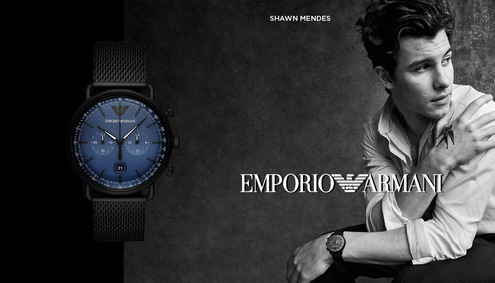 Emporio Armani часовници и накит