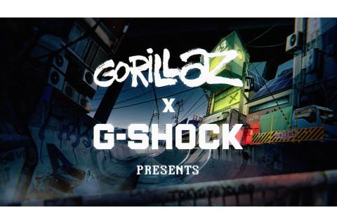 G-SHOCK и Gorillaz
