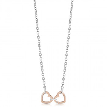 UBN29068 HEARTED CHAIN